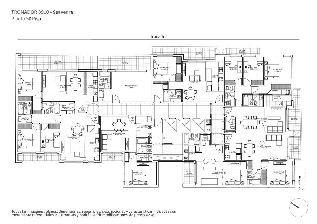 Foto Edificio en Saavedra Tronador al 3900 numero 10