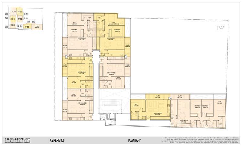 Foto Edificio en Caballito ESPACIO AMPERE - AMPERE 850 número 8