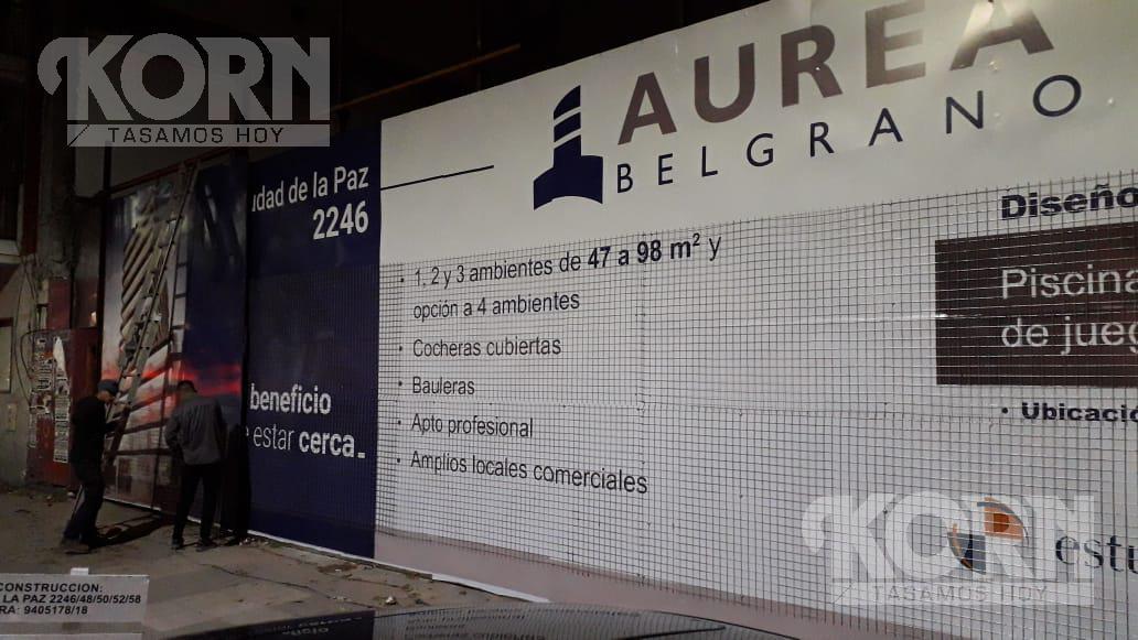Foto Edificio en Belgrano Ciudad de la Paz entre Olazabal y Mendoza numero 27