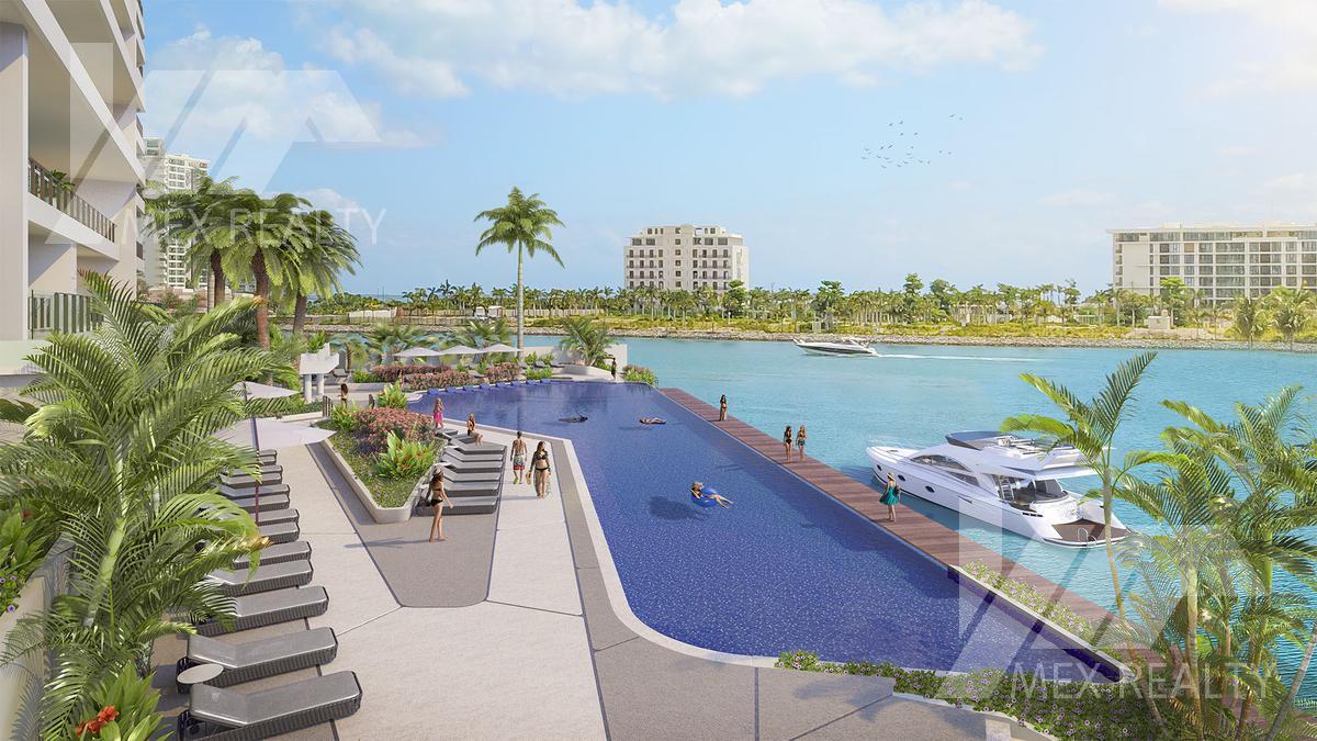Foto Condominio en Puerto Cancún  Marina Town Center, Puerto Cancún, Zona Hotelera, Cancún  número 18