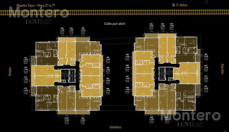 Foto Edificio en Colegiales Moldes 800 número 10
