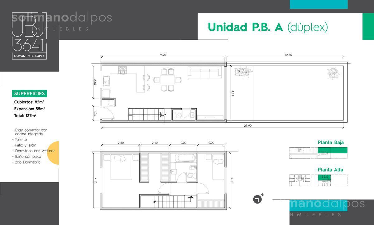 Foto Edificio en Olivos-Maipu/Uzal Juan B Justo 3641 número 10