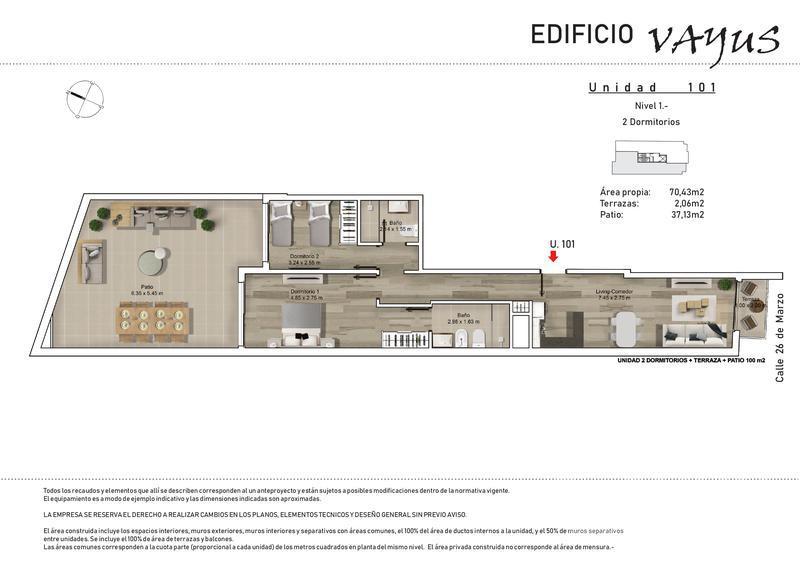 Foto Edificio en Pocitos 26 de marzo y Luis A. de Herrera número 9