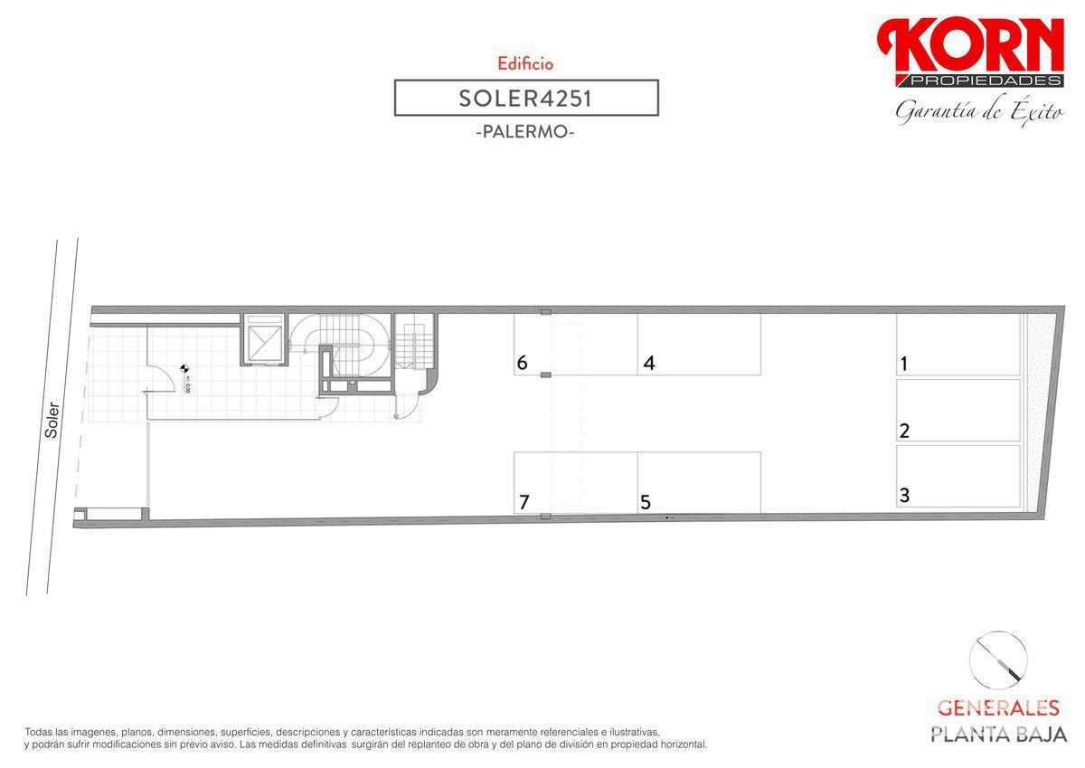 Foto Edificio en Palermo Soho Soler entre J. Alvarez y Araoz numero 8