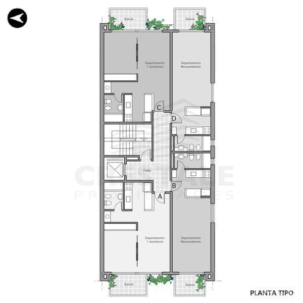 Venta Departamento 1 Dormitorio Rosario Zona Centro