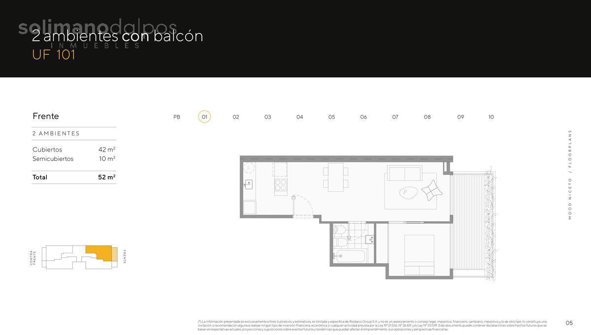 Foto Edificio en Palermo Hollywood Niceto Vega 5648 número 12