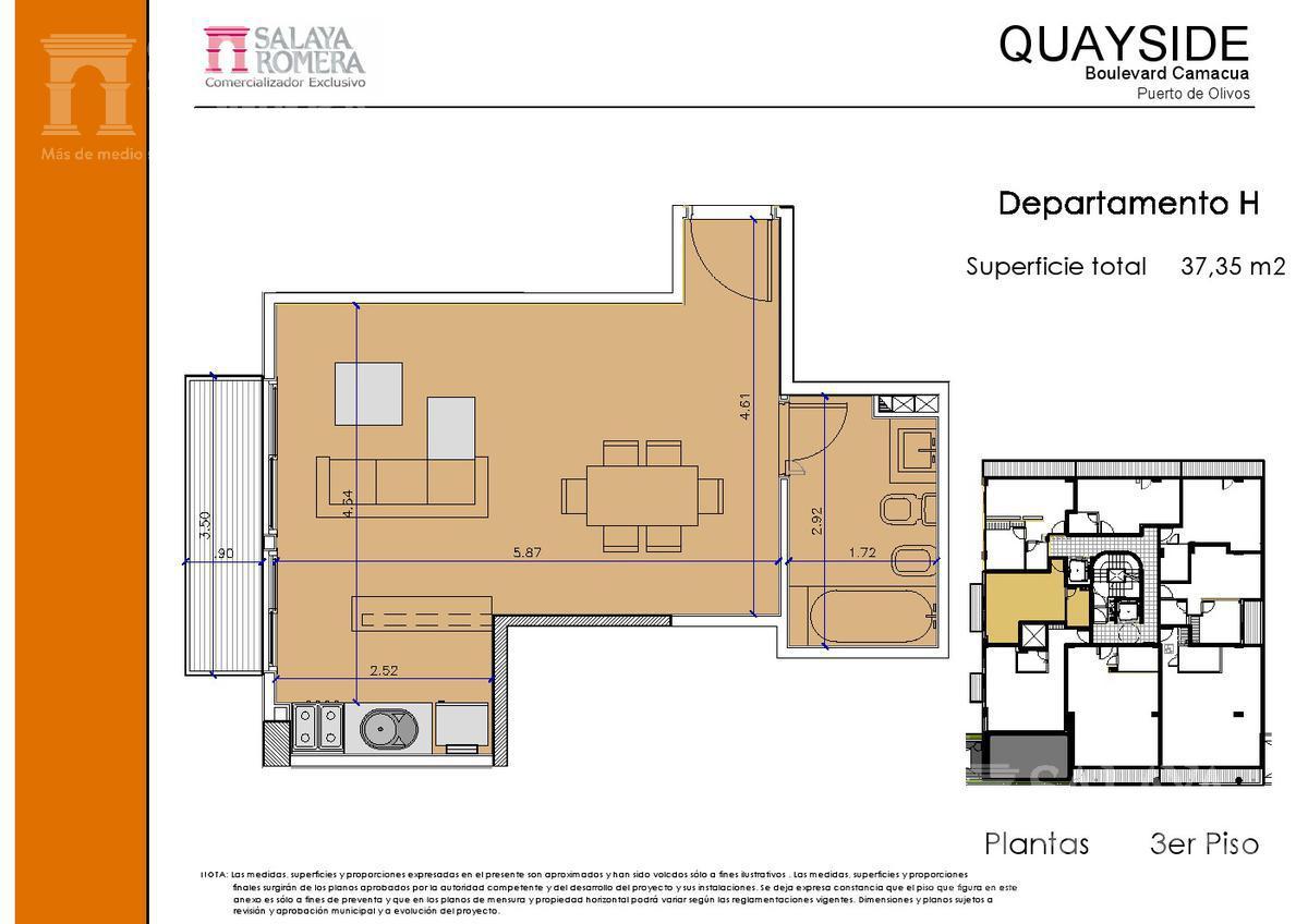 Foto Edificio en Olivos-Vias/Rio Camacua 400 número 21
