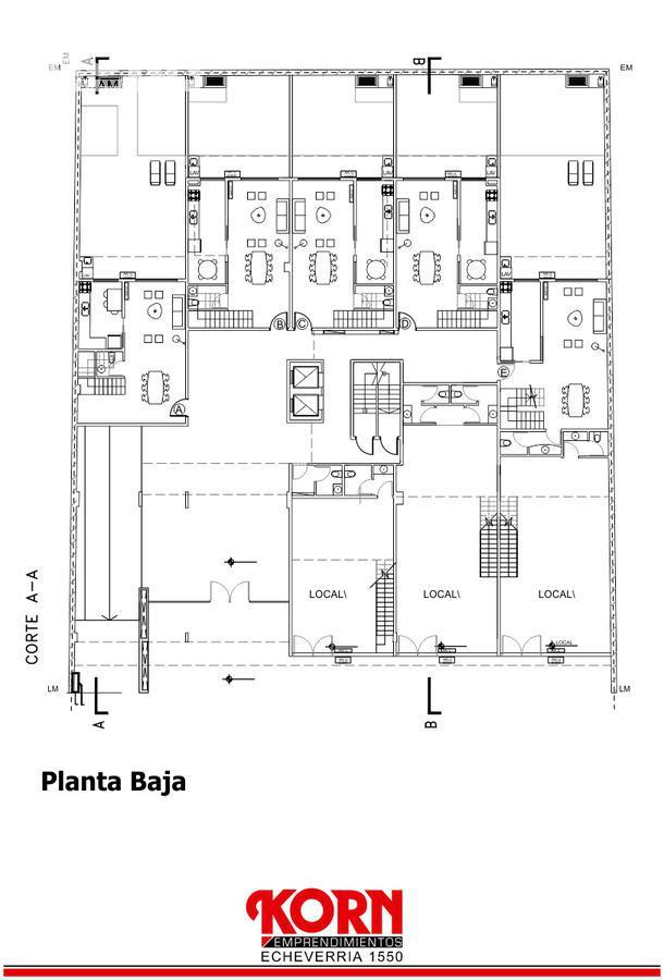 Foto Edificio en Belgrano Barrancas Echeverría entre Montañeses y Av. del Libertador numero 8