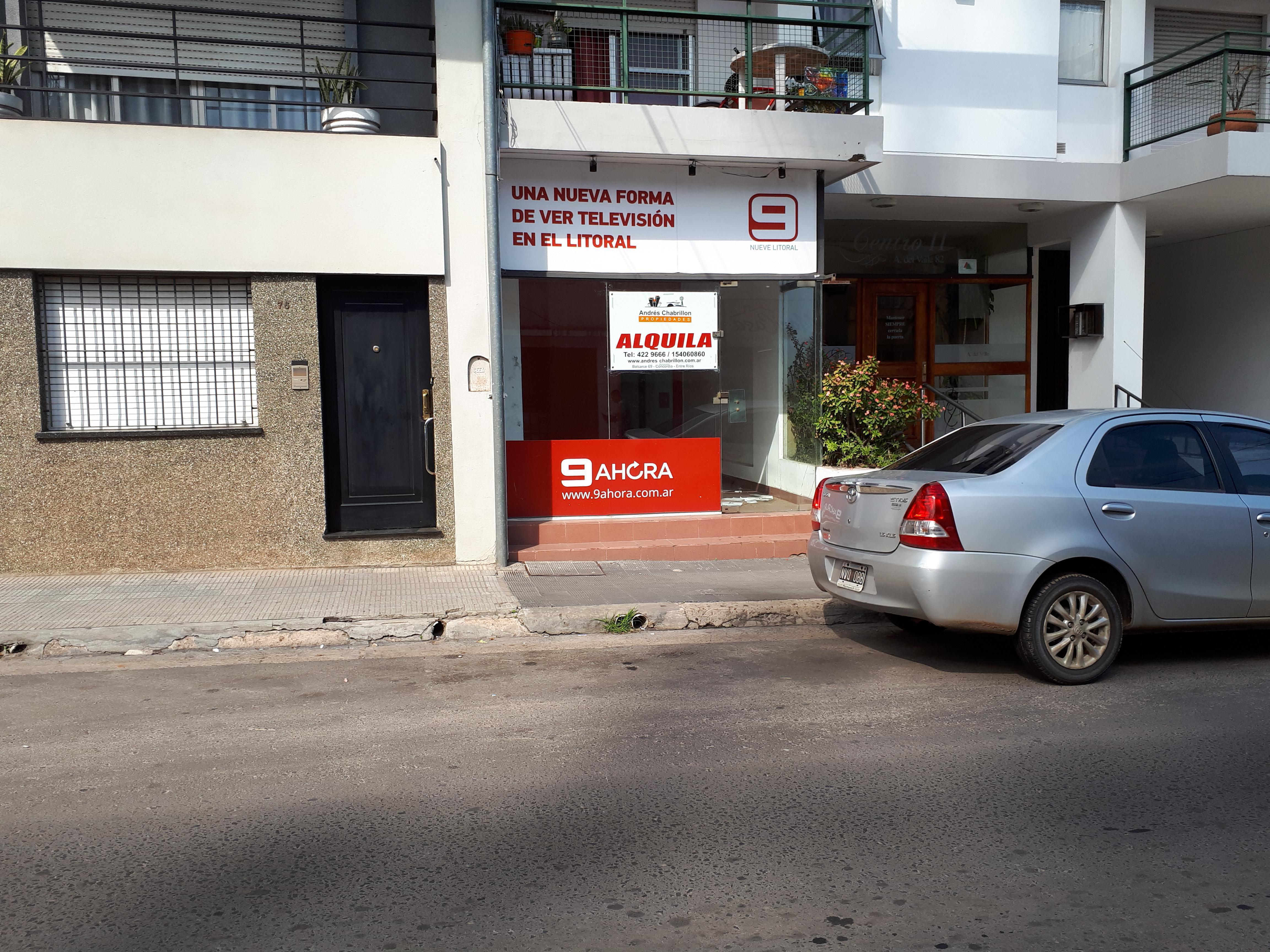 FotoLocal en Alquiler |  en  Centro,  Concordia  A. del Valle 80