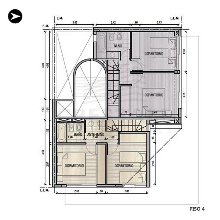 Venta departamento 2 dormitorios Rosario, Norte. Cod 1987. Crestale Propiedades