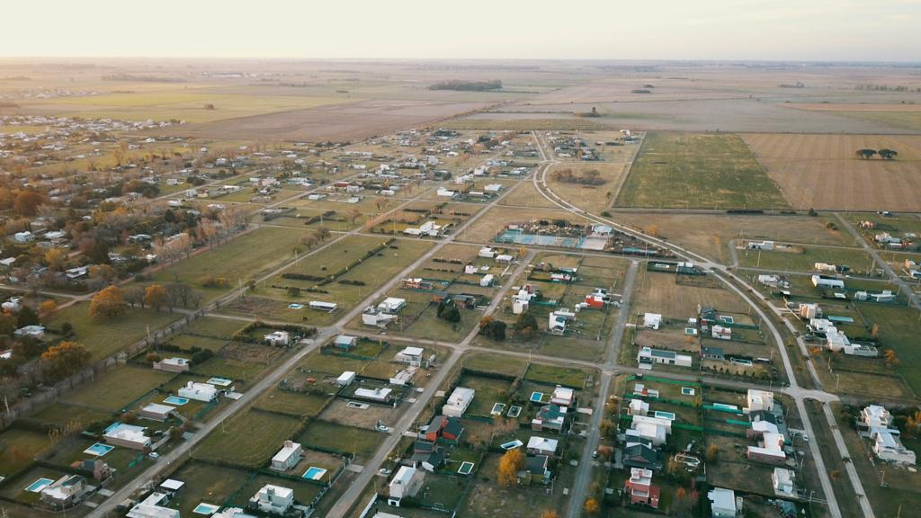Vista aérea del barrio