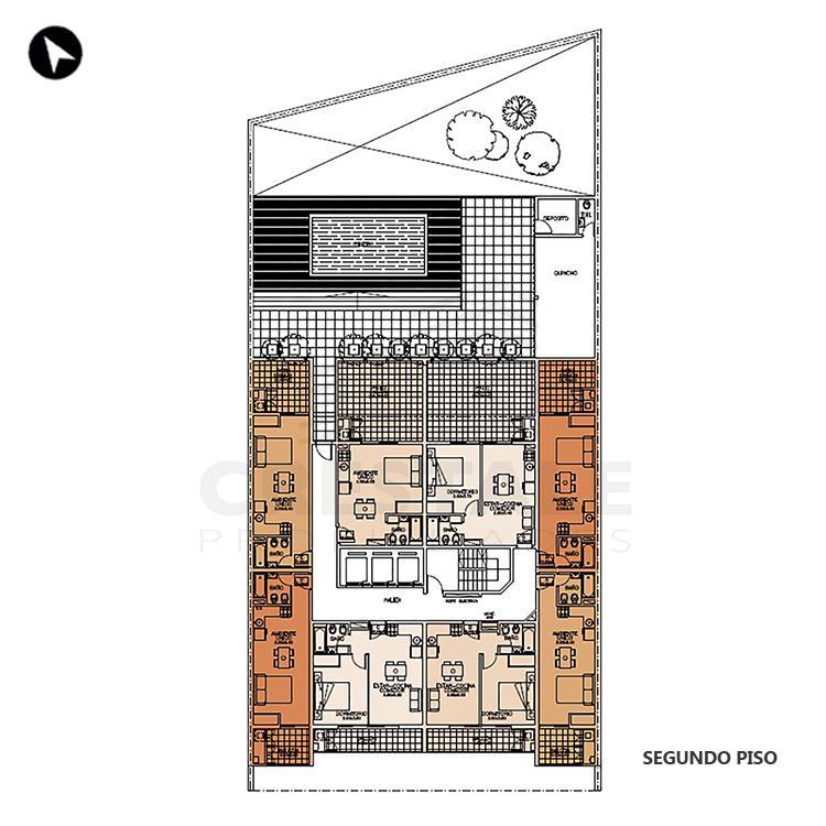 Venta departamento monoambiente Rosario, . Cod CBU7685 AP2315981. Crestale Propiedades