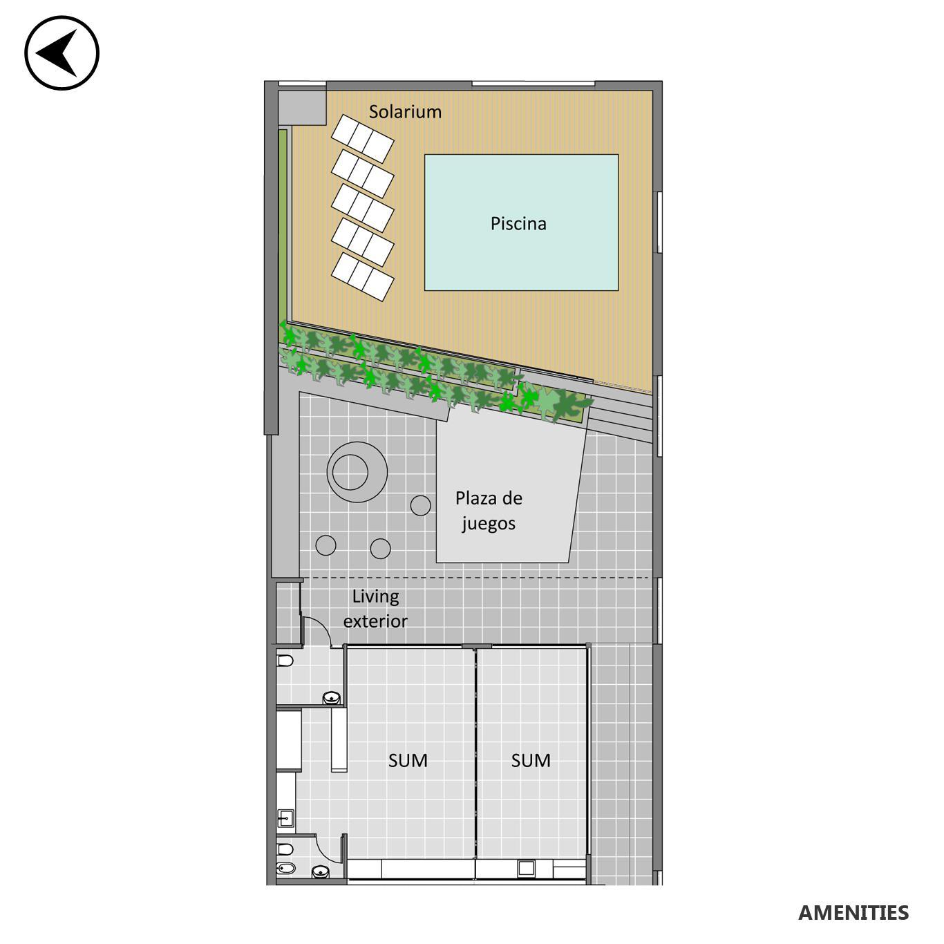 Venta departamento 3 dormitorios Rosario, Centro. Cod CBU24681 AP2297782. Crestale Propiedades