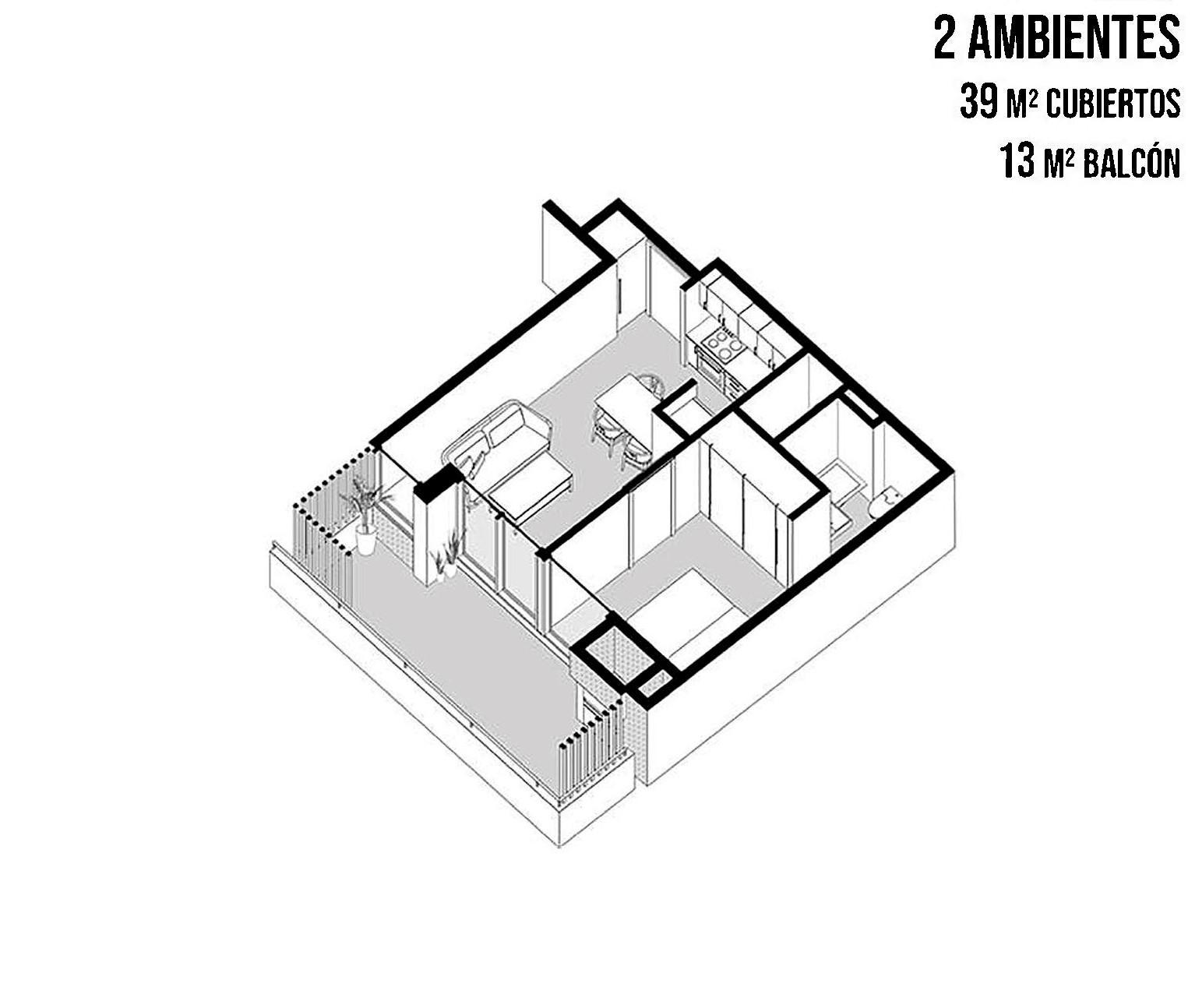 FotoDepartamento en Venta |  en  Chacarita ,  Capital Federal  Loyola al 1600 4 B