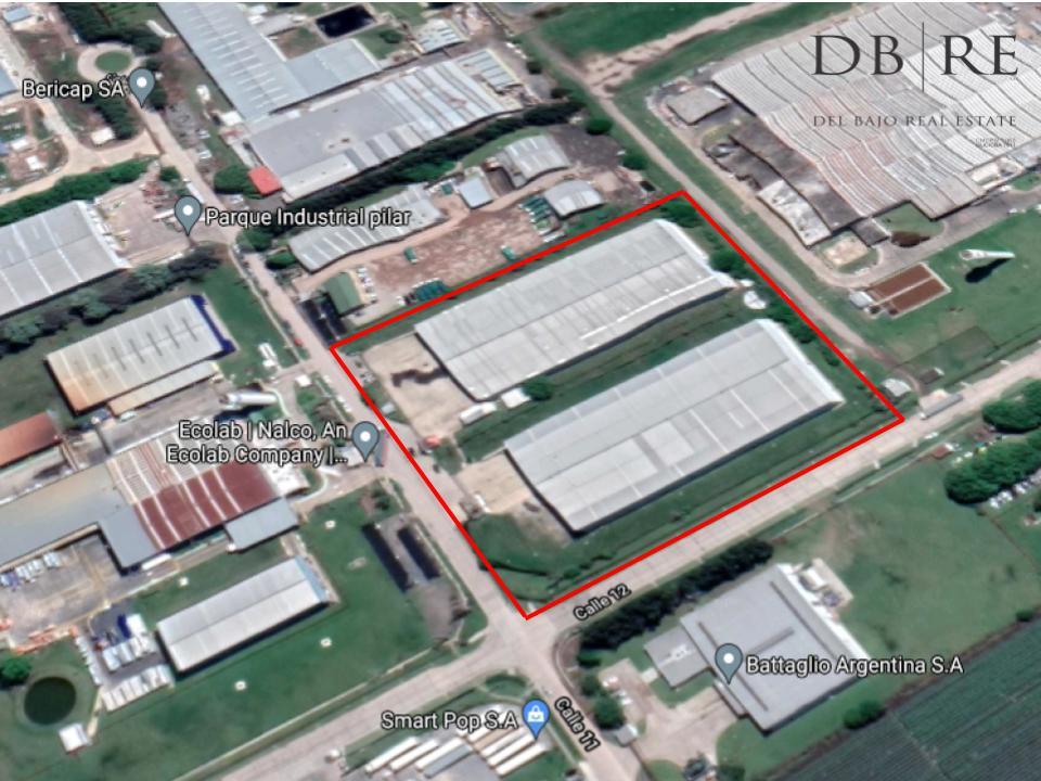 FotoNave Industrial en Venta    en  Parque Industrial Pilar,  Pilar  Calle 11 y 12 Parque Industrial Pilar