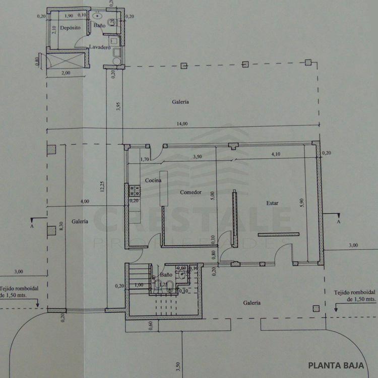 Venta casa 3 dormitorios Funes, San Sebastian. Cod 3687. Crestale Propiedades