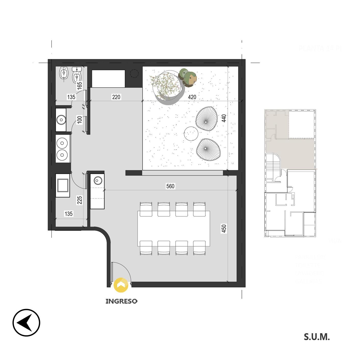 Venta departamento 1 dormitorio Rosario, Pichincha. Cod CBU24211 AP2259260. Crestale Propiedades