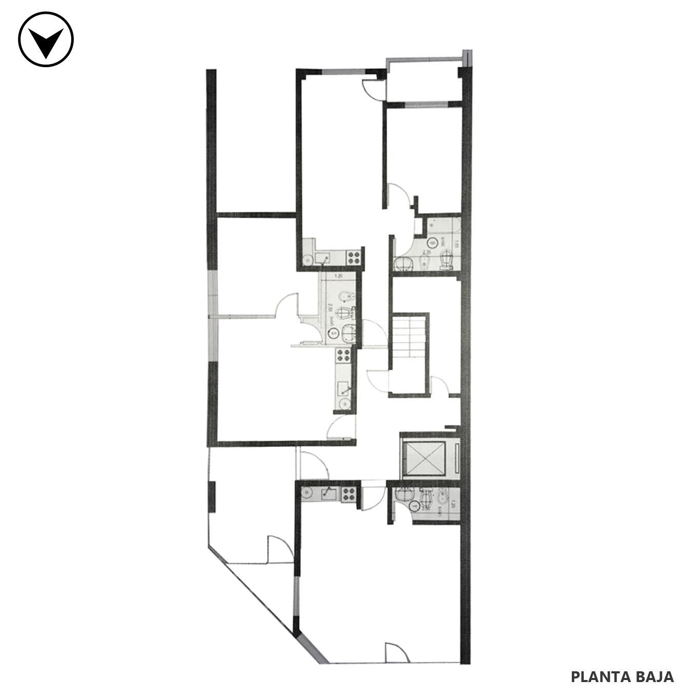 Venta departamento 1 dormitorio Rosario, Luis Agote. Cod CBU25351 AP2354596. Crestale Propiedades