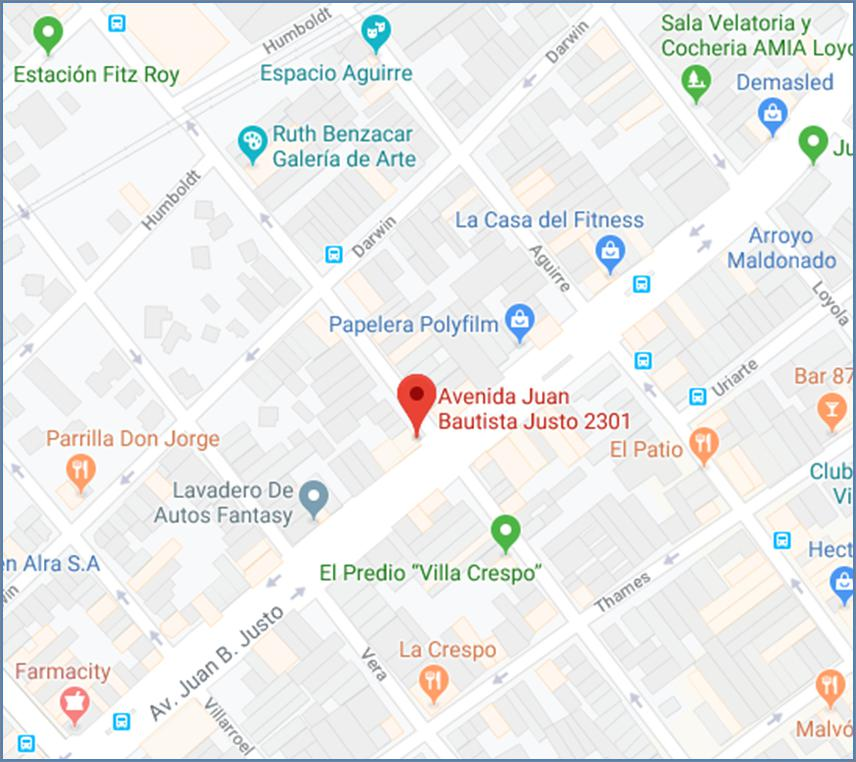 FotoTerreno en Venta |  en  Villa Crespo ,  Capital Federal  Av. Juan B. Justo al 2300