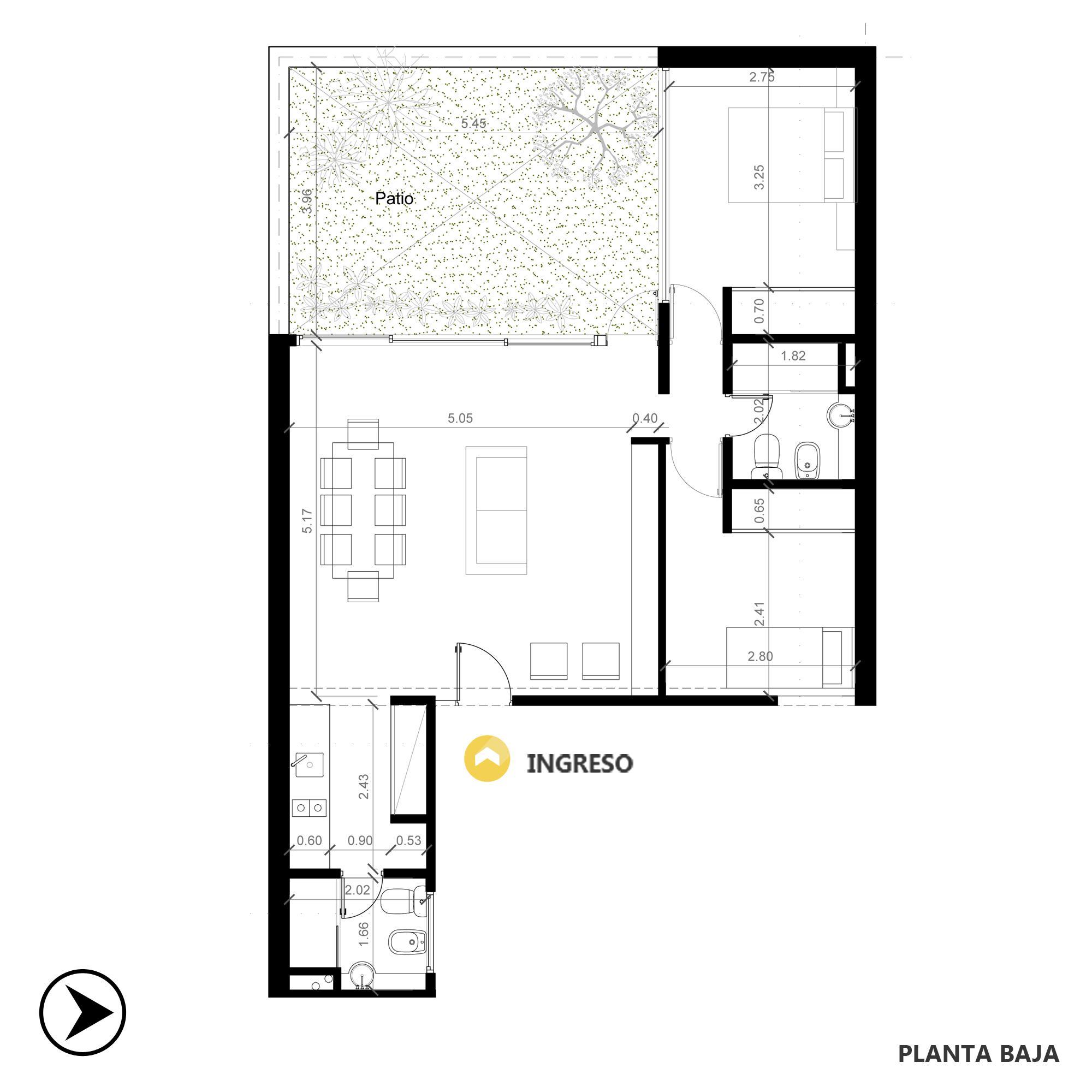 Venta departamento 2 dormitorios Rosario, . Cod CBU7828 AP2020038. Crestale Propiedades