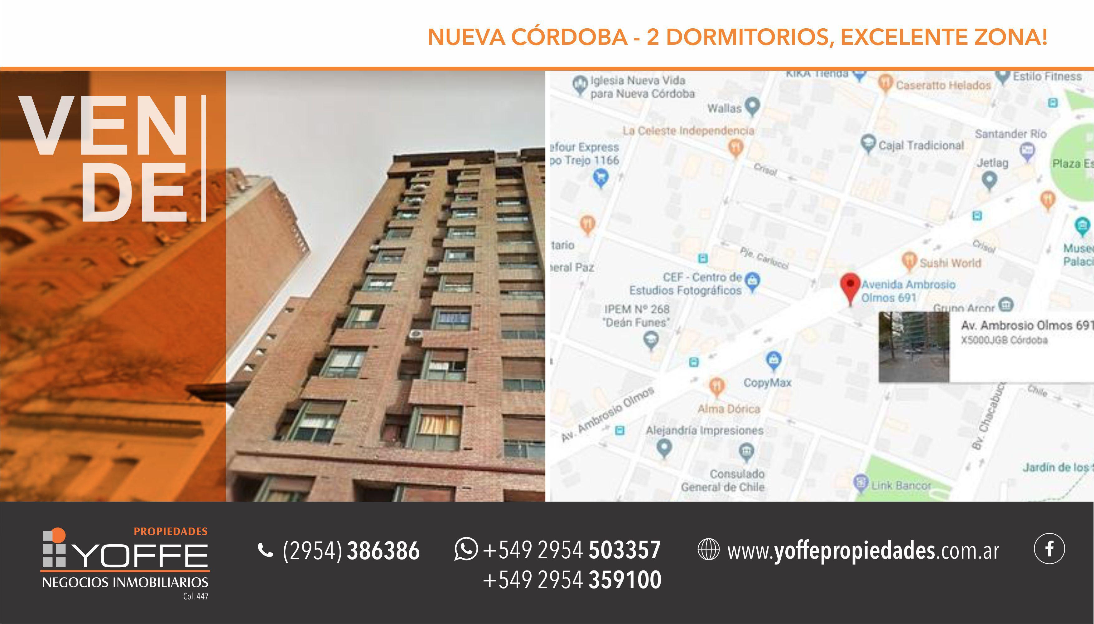 FotoDepartamento en Venta |  en  Nueva Cordoba,  Capital  Avenida Ambrosio Olmos