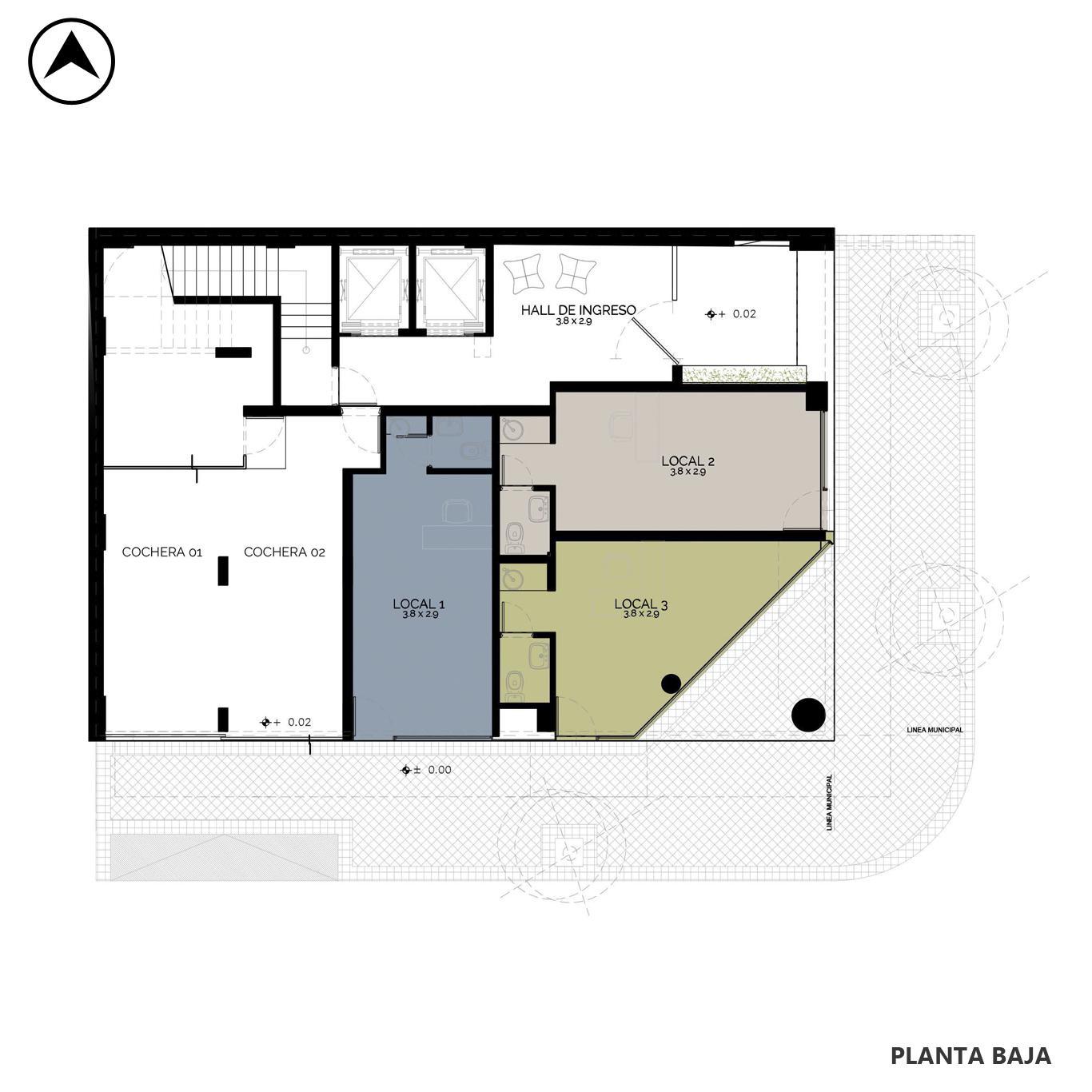 Venta departamento 2 dormitorios Rosario, República De La Sexta. Cod CBU24834 AP2314109. Crestale Propiedades