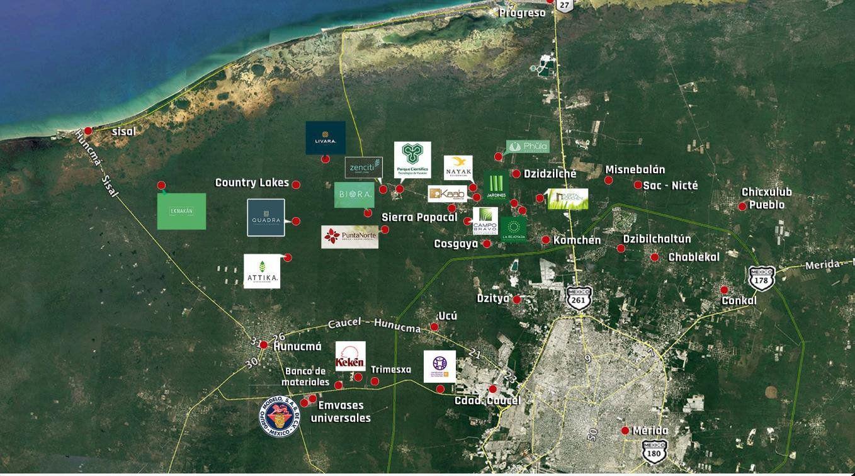 FotoTerreno en Venta |  en  Hunucmá ,  Yucatán  TERRAVIVA HUNUCMA terrenos de inversión, desde 360 m2 hasta 3113 m2.