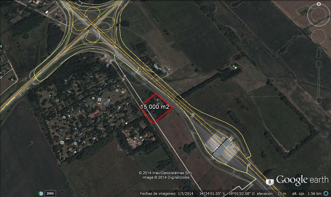 FotoTerreno en Venta |  en  Pilar ,  G.B.A. Zona Norte  Ruta Naciona N° 8 casi Ruta 6
