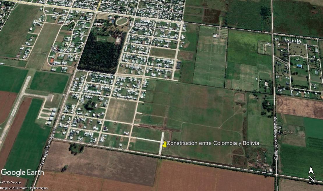 Constitución entre Colombia y Bolivia - Gaggiotti Inmobiliaria cuenta con más de 50 años desde que se inicio en el negocio de los servicios inmobiliarios.