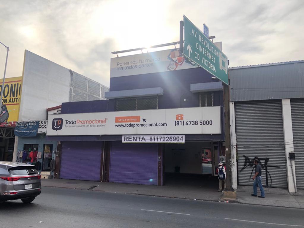 FotoBodega de Guardado en Renta |  en  Centro,  Monterrey  Renta local comercial  con bodega, sobre Felix U. Gómez