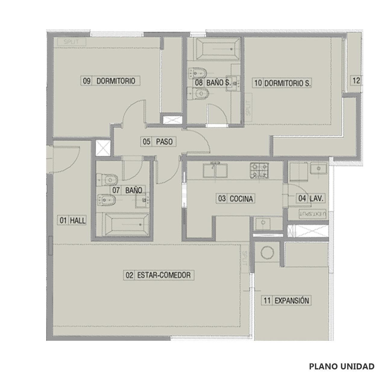 Venta departamento 2 dormitorios Funes, Funes. Cod CBU23049 AP2208543. Crestale Propiedades