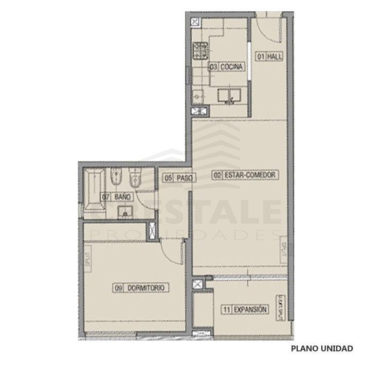 Venta departamento 1 dormitorio Funes, Funes. Cod CBU23049 AP2208285. Crestale Propiedades