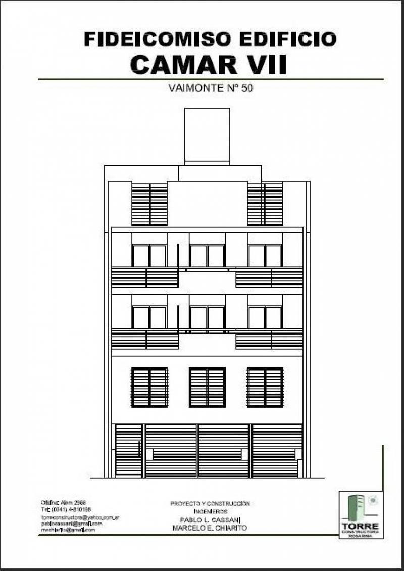FotoDepartamento en Venta    en  República de la Sexta,  Rosario  Viamonte 50 Precio Imperdible Monoambiente al Frente con Balcón