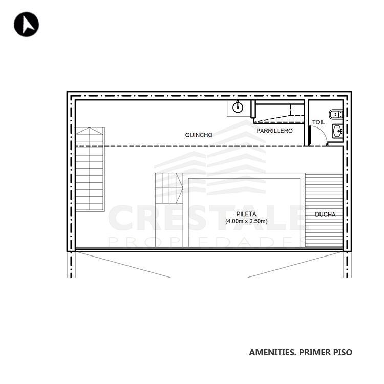 Venta departamento 1 dormitorio Rosario, . Cod CBU7693 AP2295839. Crestale Propiedades