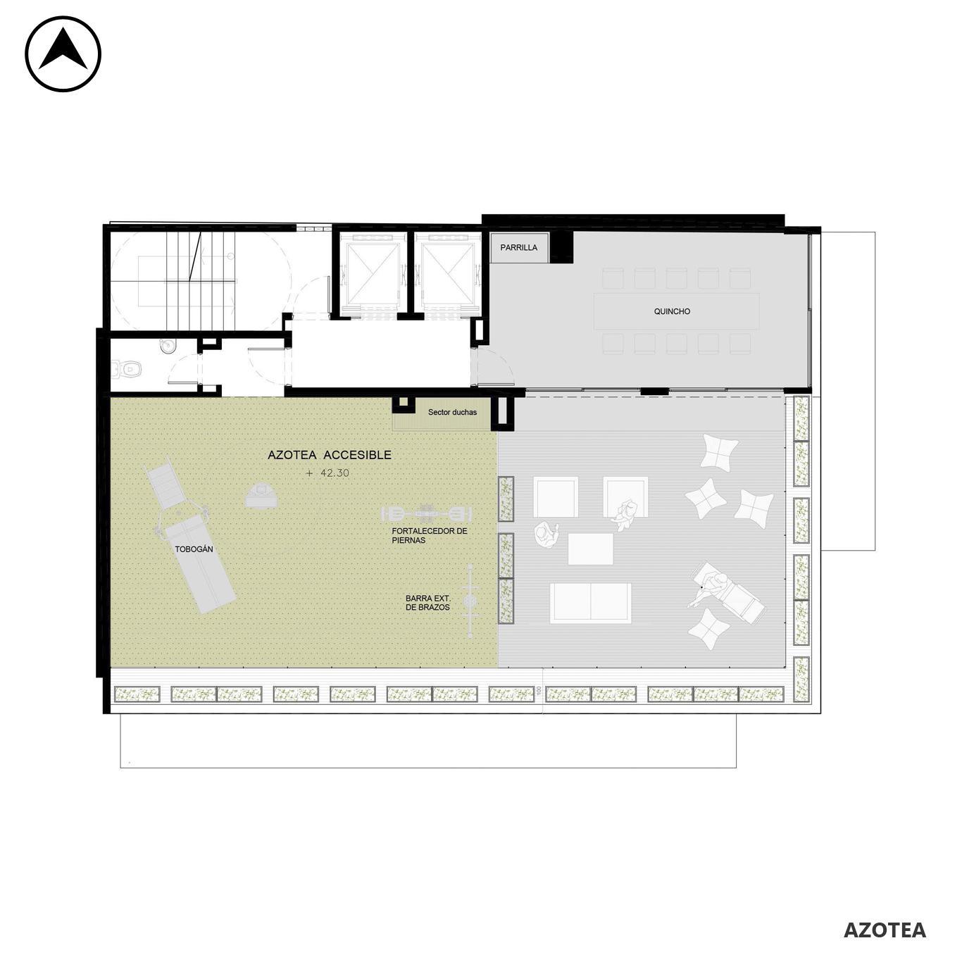 Venta departamento 1 dormitorio Rosario, República De La Sexta. Cod CBU24834 AP2314008. Crestale Propiedades