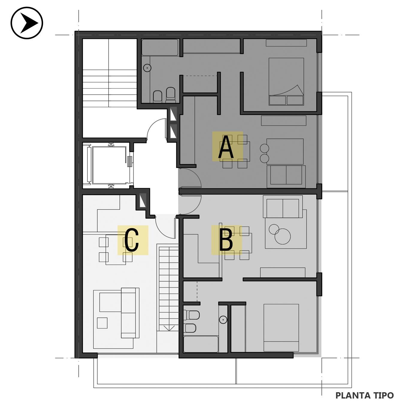 Venta departamento 3 dormitorios Rosario, Centro. Cod CBU24188 AP2257998. Crestale Propiedades
