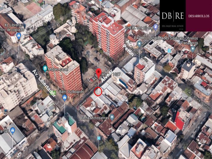 FotoTerreno en Venta    en  S.Fer.-Vias/Libert.,  San Fernando  Alvear al 1000