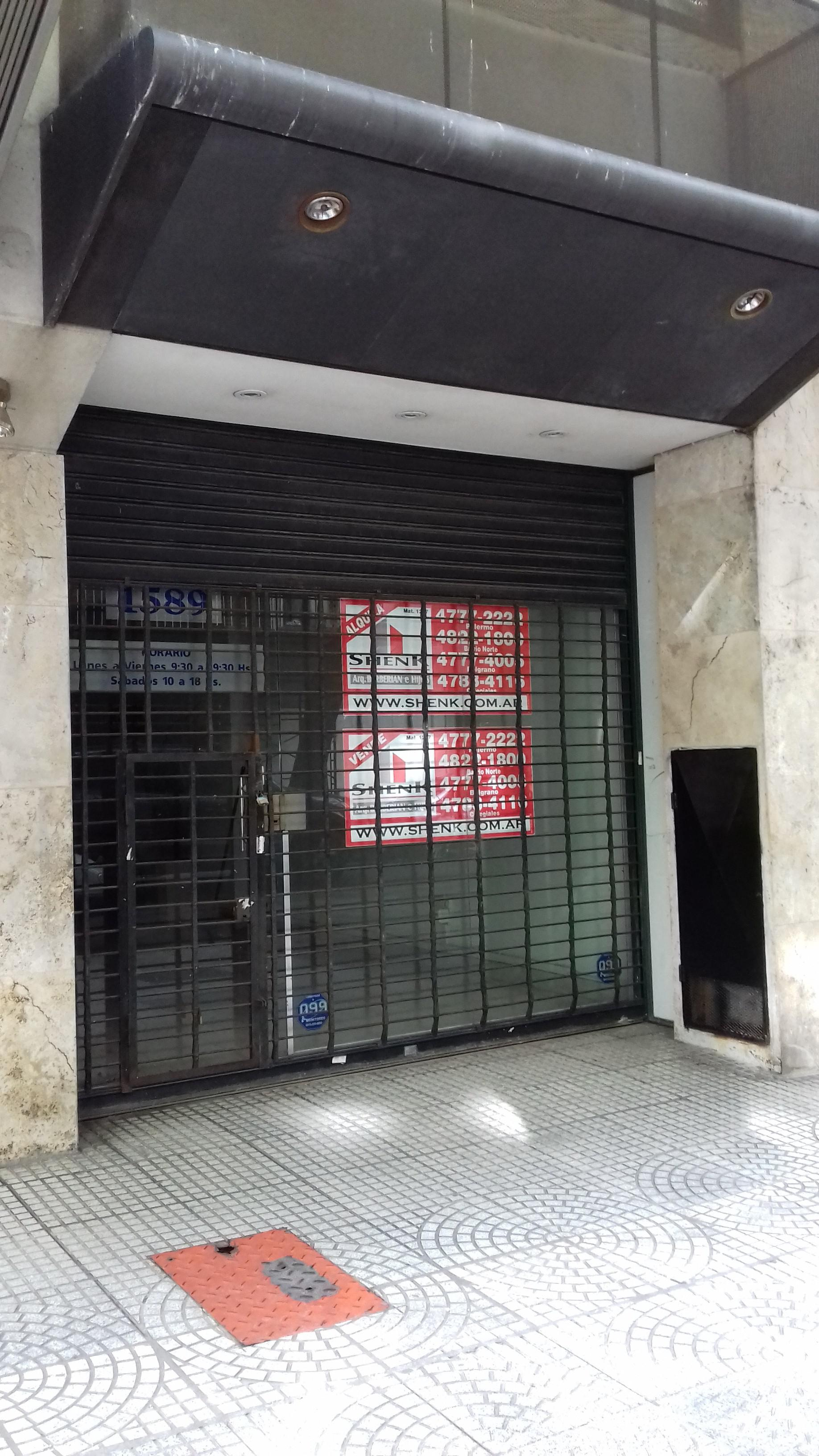 Foto Local en Alquiler |  en  Belgrano ,  Capital Federal  Matienzo al 1500