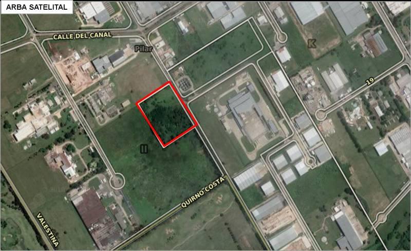 FotoTerreno en Venta    en  Pilar ,  G.B.A. Zona Norte  Parque Industrial Pilarica Calle  5 Parcela 110B