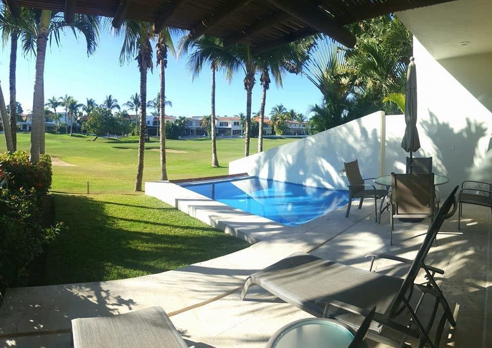 FotoCasa en condominio en  en  Ejido Nuevo Vallarta,  Bahía de Banderas  Casa en renta El Tigre Nuevo Vallarta, frente al campo de golf