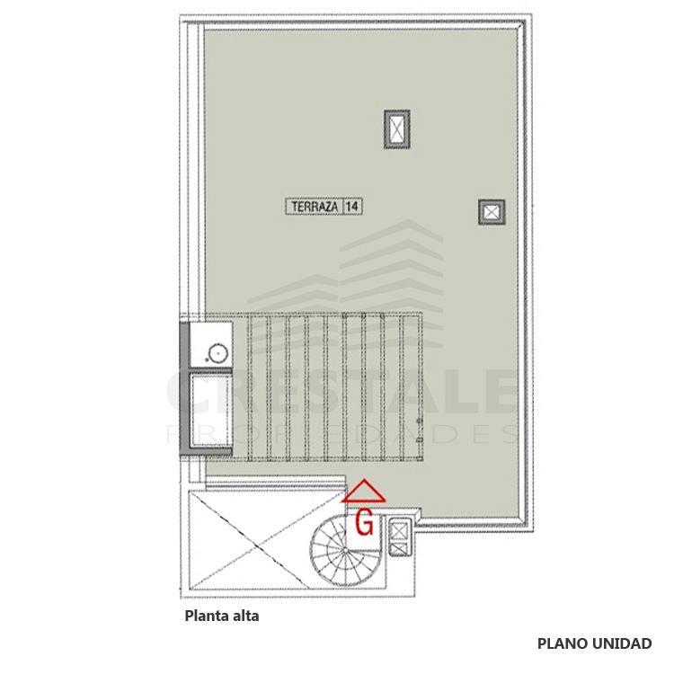 Venta departamento 2 dormitorios Funes, Funes. Cod CBU23049 AP2208583. Crestale Propiedades