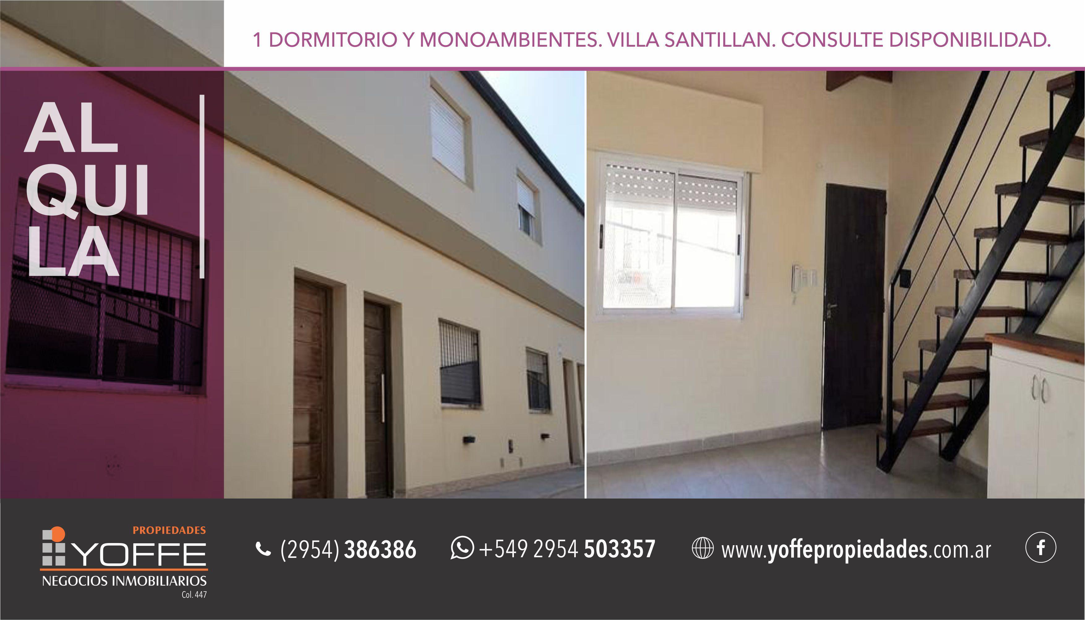 Foto Departamento en Alquiler |  en  Villa Santillán,  Santa Rosa  Juan XXIII al 1400
