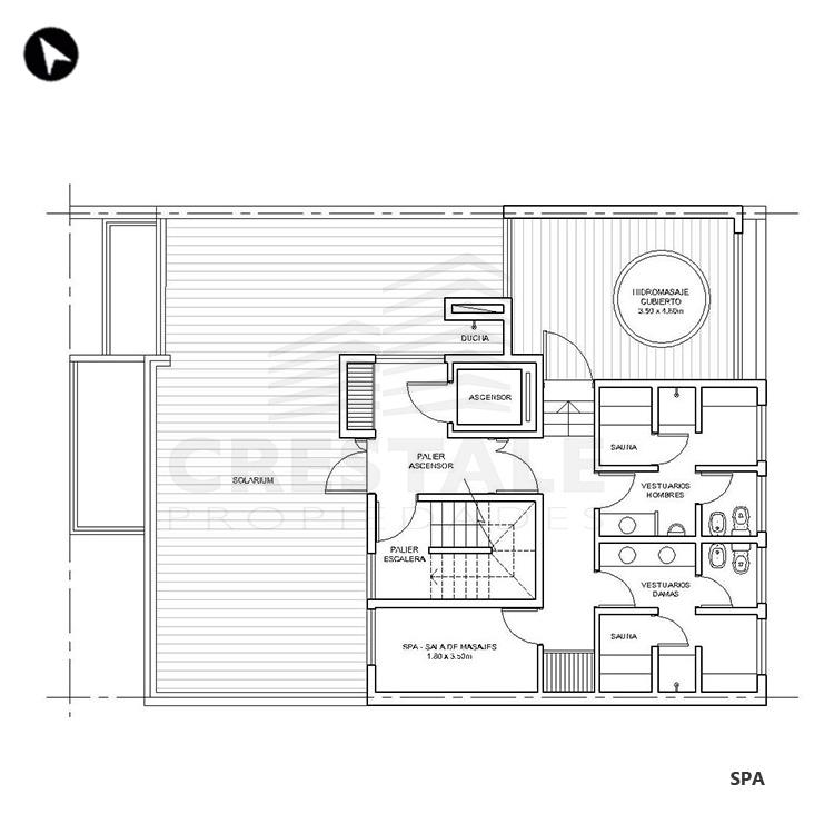 Venta departamento 1 dormitorio Rosario, Centro. Cod 1506. Crestale Propiedades