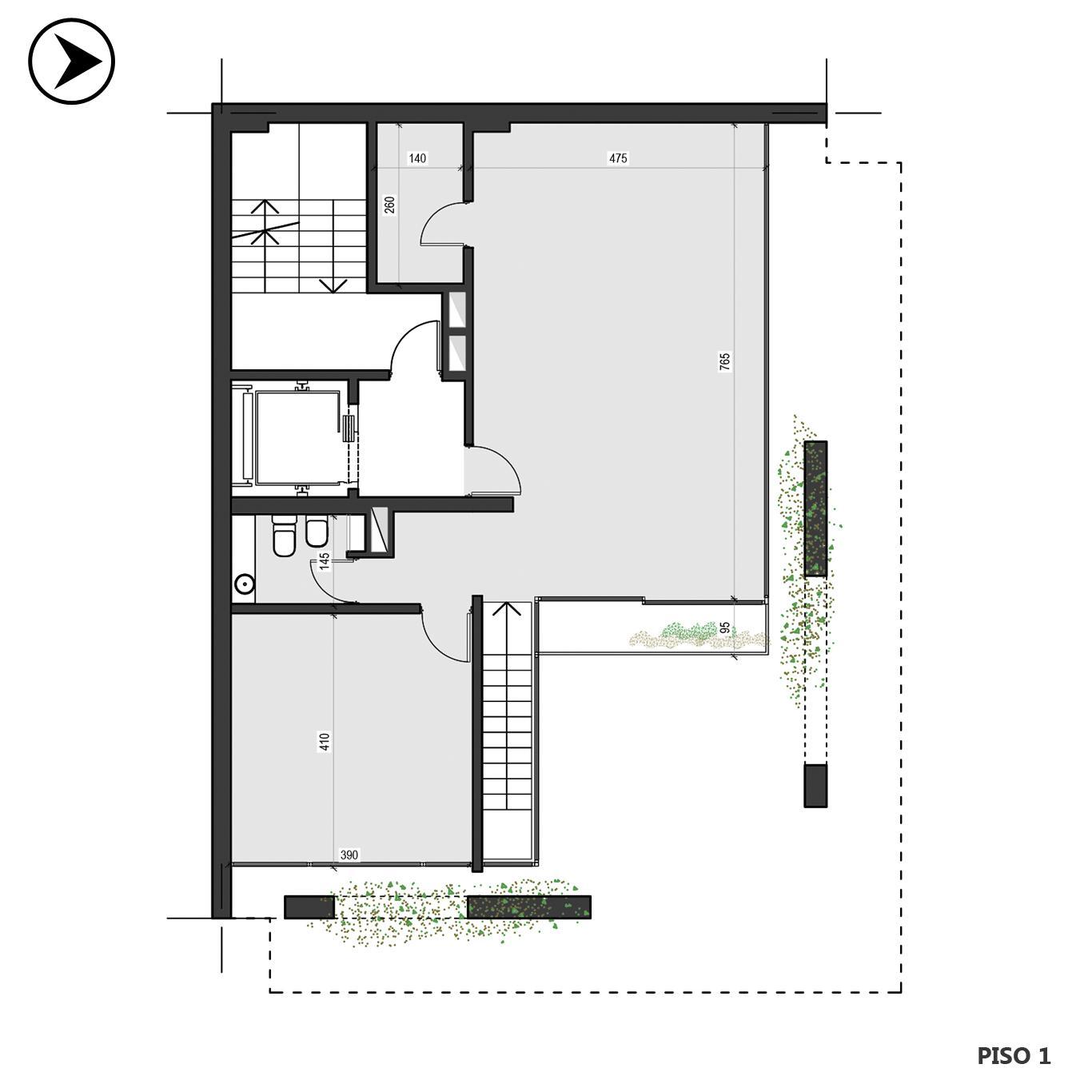 Venta departamento 1 dormitorio Rosario, Centro. Cod CBU24188 AP2257776. Crestale Propiedades