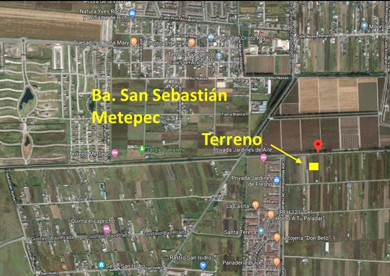 FotoTerreno en Venta    en  San Sebastián,  Metepec  Maximiliano de Hasburgo, San Sebastian, Metepec