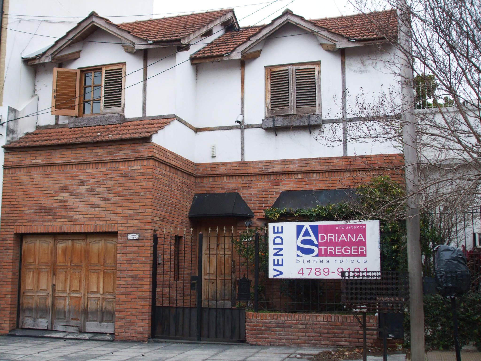Foto Casa en Venta    en  Saavedra ,  Capital Federal  Freire Ramon Cap al 4100 entre Besares y Vilela