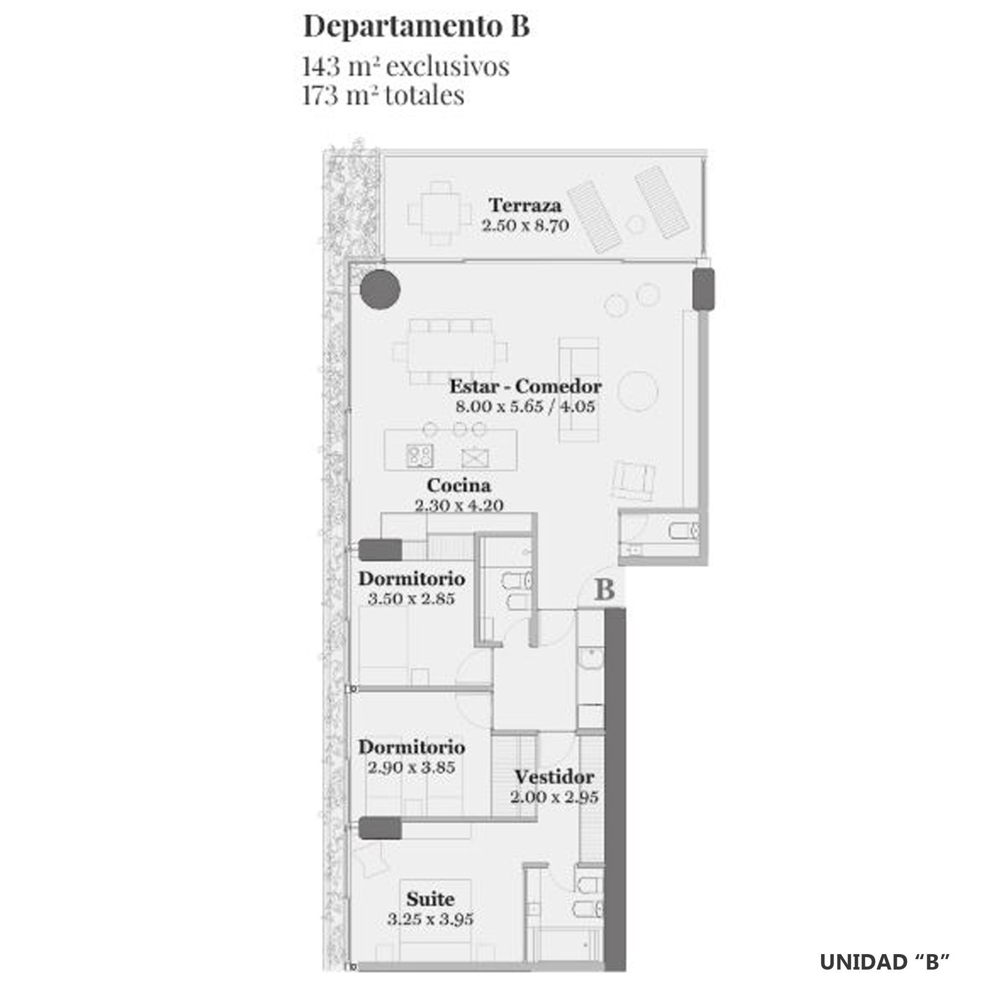 Venta departamento 3+ dormitorios Rosario, Pichincha. Cod CBU10856 AP1061199. Crestale Propiedades