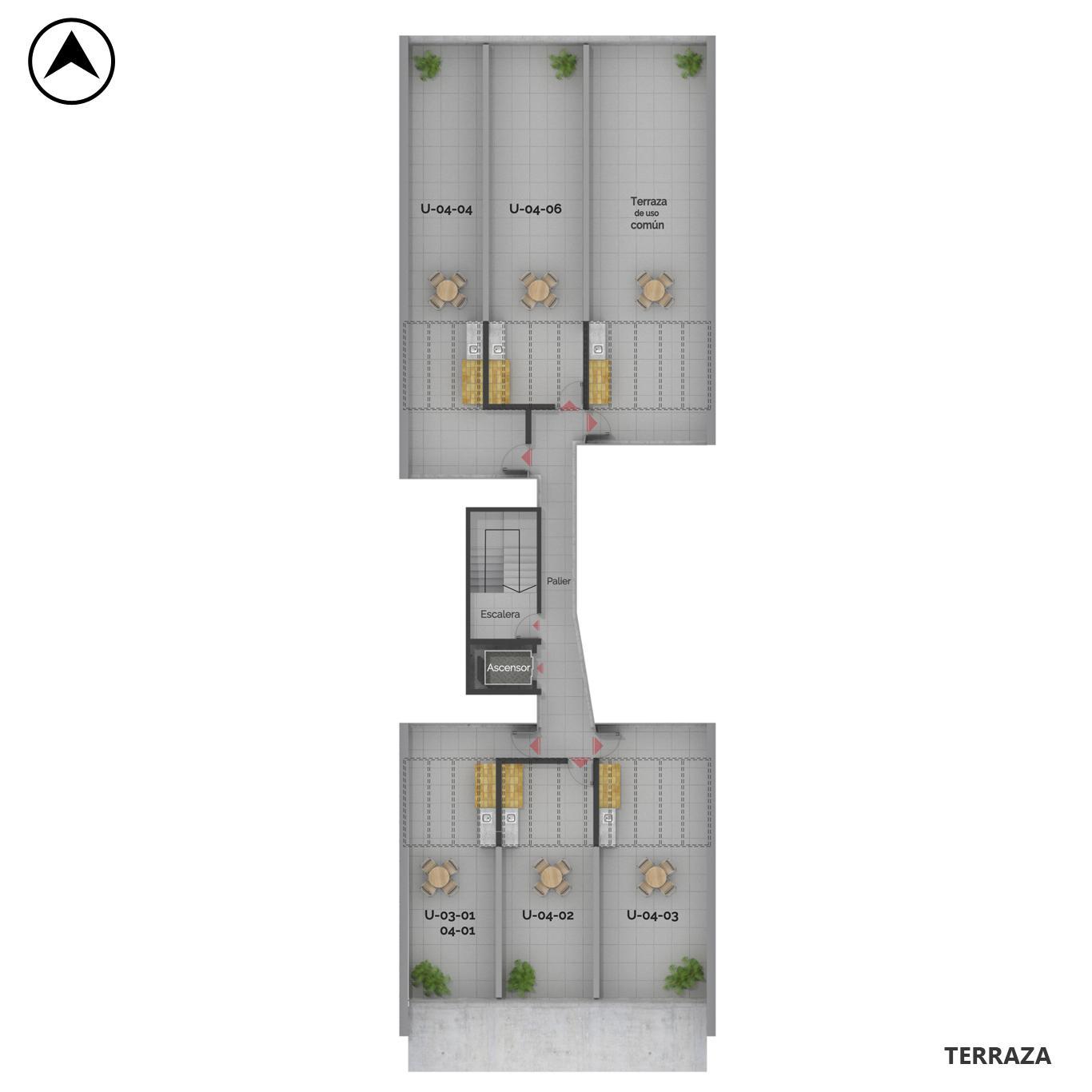 Venta departamento 1 dormitorio Rosario, Centro Oeste. Cod CBU24040 AP2248123. Crestale Propiedades