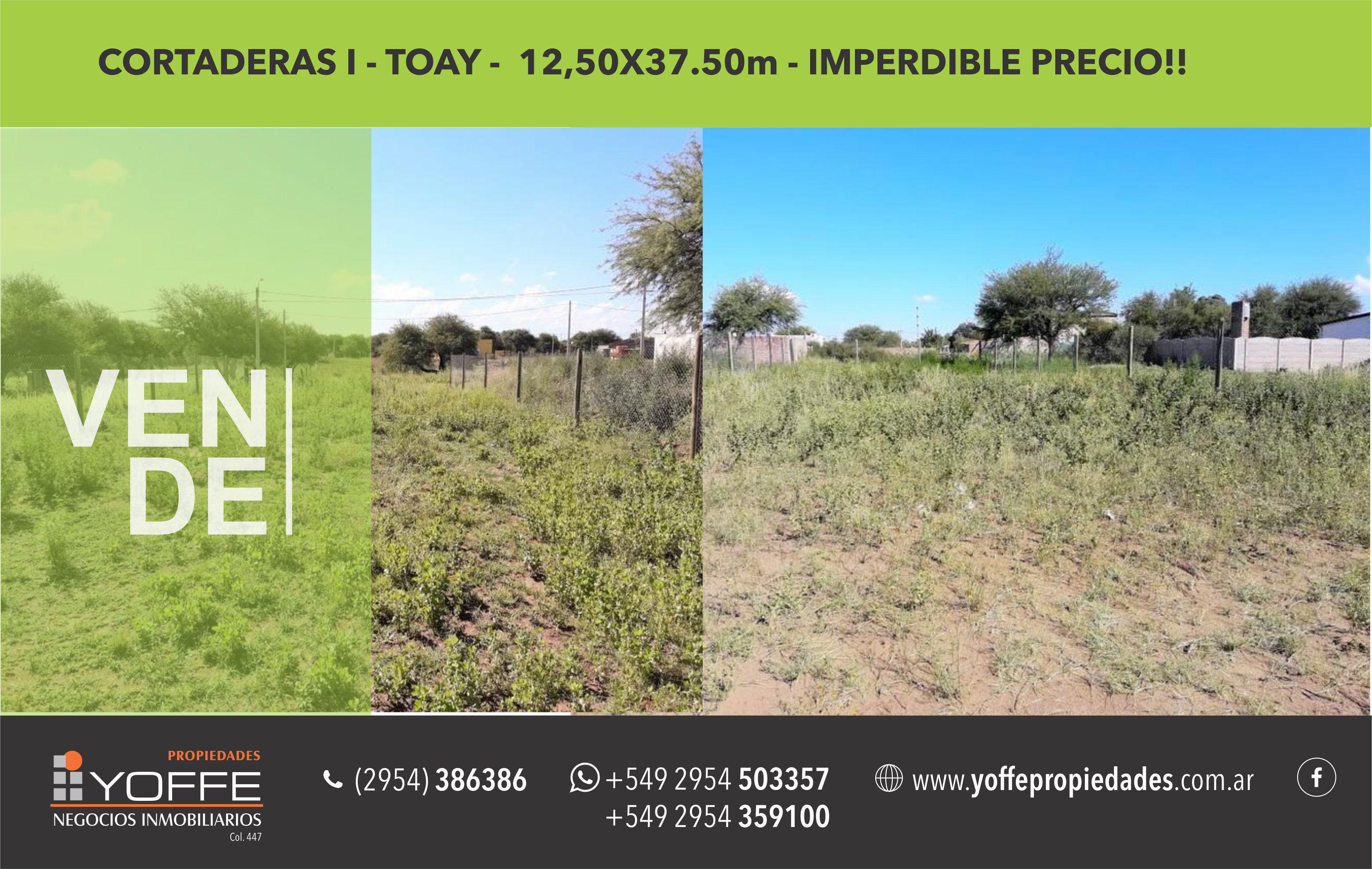 FotoTerreno en Venta |  en  Toay ,  La Pampa  San Luis