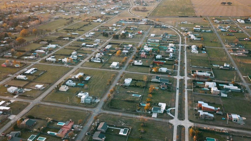 Vista aerea del Barrio
